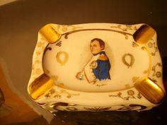 Limoges Ascher Napoleon Miniaturmalerei Handarbeit Adelsbesitz geharkt. Verkauft!