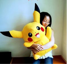 pokemon pikachu plush giant pikachu toys for girls cute gifts for kids japanese anime doll Stuffed Toy big size 85cm(China (Mainland))