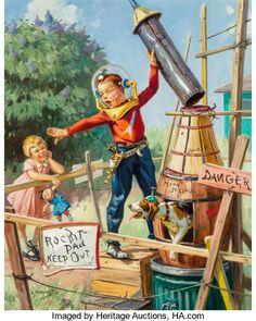 Mainstream Illustration, Hy (Henry) Hintermeister (American, 1897-1972)...