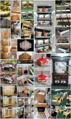 Genius Ideas to Convert Old Wood Pallets into Amazing Things