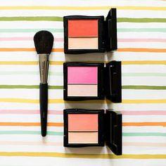 Beautiful cheek colors!