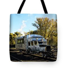 Galloping Goose Tote Bag featuring the photograph Galloping Goose 7 by Debra Martz