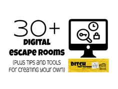 Digital escape are exciting and fun. Here are over 30 digital escape rooms to try plus a step by step guide for creating them yourself! Breakout Edu, Breakout Boxes, Escape Room Challenge, Riddles To Solve, Google Classroom, Classroom Ideas, Classroom Games, Classroom Inspiration, Student Learning