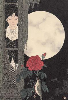 darksilenceinsuburbia:  Takato Yamamoto. Nightingale. also