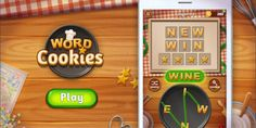 Crisp and tasty word cookies! Let's find words to be the best chef! #wordcookies