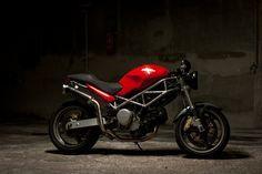 Ducati Monster 620 cafe racer | ducati monster 620 cafe race… | Flickr