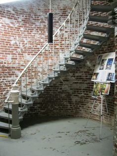 Heceta Head Lighthouse, drawings and spiral stair