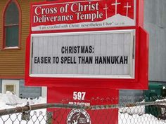 Check out this hillarious collection of funny church signs.  We've curated the funnniest signs we could find.