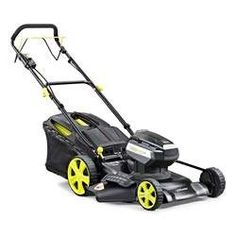 Akku-Mäher mit Radantrieb e-MOOV 120V - 51cm - ohne Akku Lawn Mower, Outdoor Power Equipment, Mulches, Lawn Edger