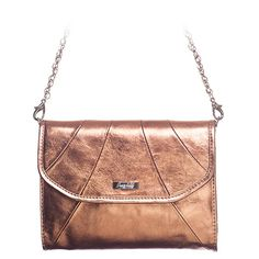 Grace Adele Leather Rue Clutch