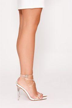 e5ff1c02f59 Heidi Klum s feet in heels with crystal embellished straps ...