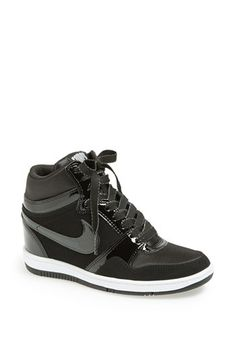 Nike 'Force Sky Hi' Wedge Sneaker (Women) available at #Nordstrom