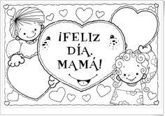Actividades y manualidades, de laeduteca.blogspot.com.es, para celebrar el Día de la Madre (primer domingo de mayo).