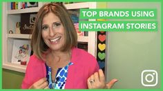 Top Brands Using Instagram Stories