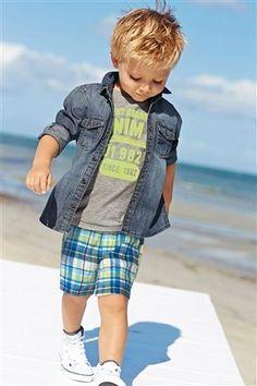 Buy Denim Shirt (3mths-6yrs) online today at Next: Netherlands