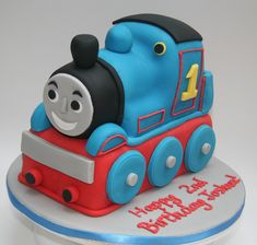 Thomas The Tank Engine Kids Birthday Cake Recipe How Cook That Ann more at Recipins.com