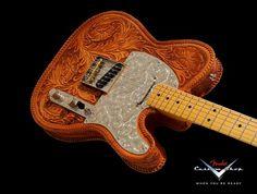 Fender Custom Shop Hand Tooled Telecaster