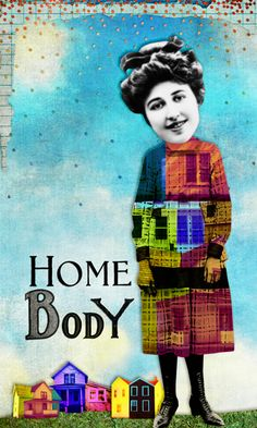Homebody :: created with digital images from Tumble Fish Studio ~ available at Mischief Circus.