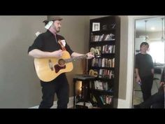Corin Raymond performs Dont Spend It Honey at a house concert, where guests stuff his pockets, boots, hat and shirt full of Canadian Tire money as he plays- like a scarecrow!! (/stripper)