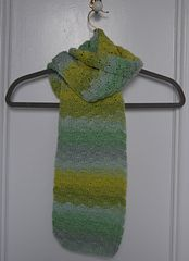 Ravelry: Gradient Shells Scarf pattern by Marie Segares