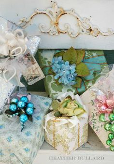 Vintage Holiday Gift Wrapping Ideas