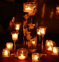 Candle Tablescape
