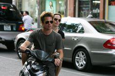 Brad Pitt and Angelina Jolie in Ho Chi Minh City, Vietnam