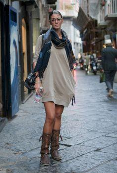 Southern Italian Street Fashion: Napoli
