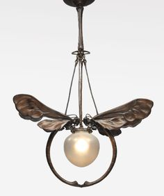 european art nouveau chandelier | lighting | sotheby's n09238lot7nyhyen