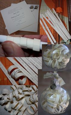 Wedding invitation ornament                              …