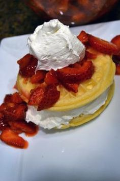 Check out this delicious recipe I found in The Great Eggo Waffle Off Contest gallery. Enter your own recipe and you could win 5,000 dollars!