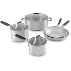 Select by Calphalon Stainless Steel 8-piece Cookware Set -- Want additional info? Click on the image.