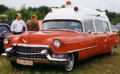 1955 Cadillac Ambulance