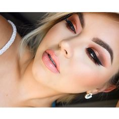 Look from the morphe 35O palette