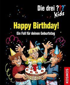 (drei Fragezeichen) – Boris Pfeiffer The three ? Happy Birthday, It's Your Birthday, Game Room Kids, Star Wars Party, Monster Party, Three Kids, Kids And Parenting, Diy For Kids, Bob