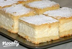 Cheesecake Recipes, Dessert Recipes, Cheese Pies, Cottage Cheese, Winter Food, Cake Cookies, Cornbread, Vanilla Cake, Sweets
