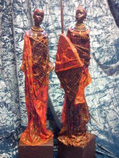 Africa masai couple