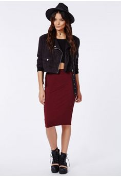 Livia Faux Leather Pleated Skater Skirt Camel - Skirts ...