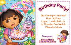 Dora's invitations