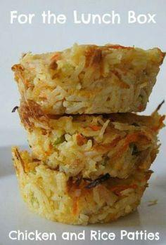Rice savoury muffins