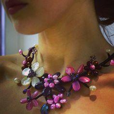 #flowers #collo #caràbijoux #élite #fashion #style