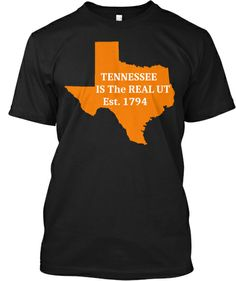 Limited Edition - Texas for Tennessee | Check out the back of it http://teespring.com/texas4tennessee