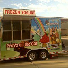 Kick's Frozen Yogurt Food Truck