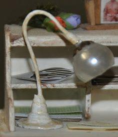 corine's mini: workshop tafel lamp / tutorial table lamp