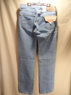 NEW Levi's 501 Men's Jeans Stonewash 32x36 Straight Leg Button Fly Original Fit