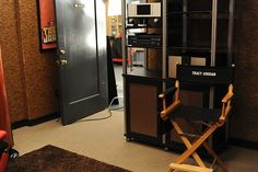 Backstage on the 30 Rock Set / Tracy Jordan