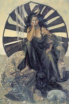 Leonor Fini - La Vie ideale (The Ideal Life), 1950
