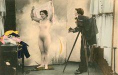 Мужчина с фотоаппаратом, 1890 - 1909