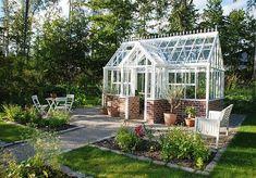 Romantiskt Växthus | Byggla.se