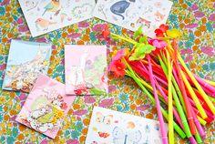 www.novamelina.com - All things pretty! INTERNATIONAL SHIPPING!  #cute #stickers #animals #forest #creatures #forkids #forchildren #girls #kawaii #japanese #beautiful #pretty #golden #shop #novamelina #pen #pencil #neon #flowers #unicorn #rainbow #stars #icecream